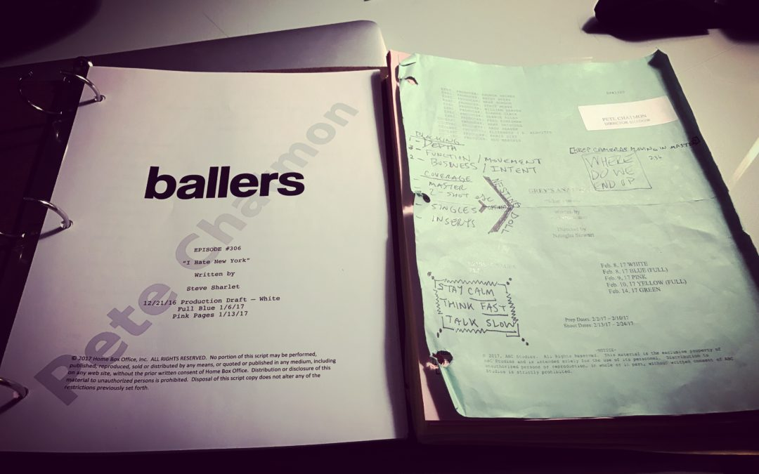 Shadowing on HBO's Ballers