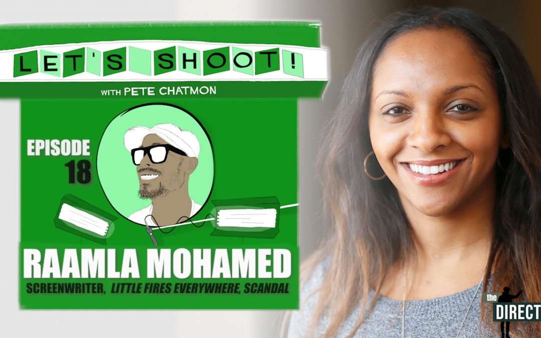 Ep. 18:  Raamla Mohamed on Learning To Write In Any Environment