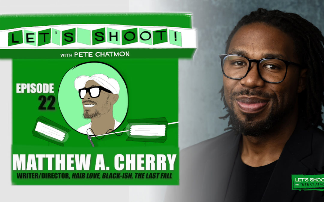 Ep. 22:  Matthew A. Cherry On His Journey From the NFL To The Academy Award