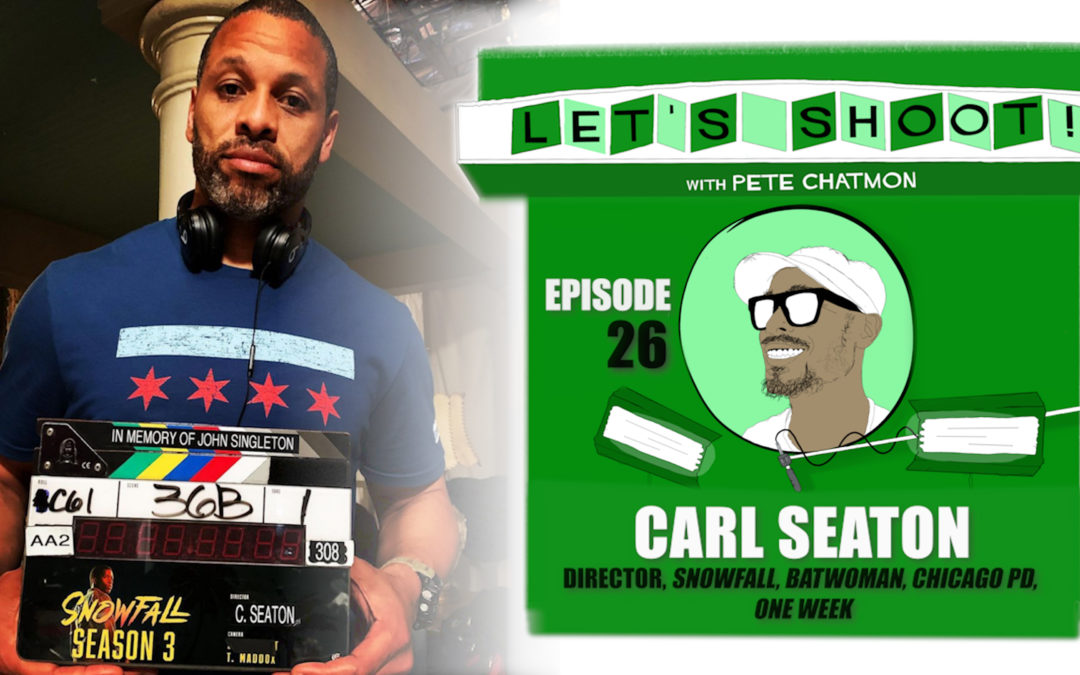 Ep. 26: Carl Seaton On Getting Comfortable With Nervousness