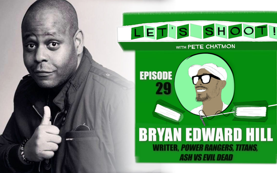 Ep. 29: Bryan Edward Hill On The Writer's Journey from Screenplays to Novels to Comic Books